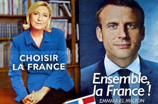 Der erbitterte Wahlkampf in Frankreich