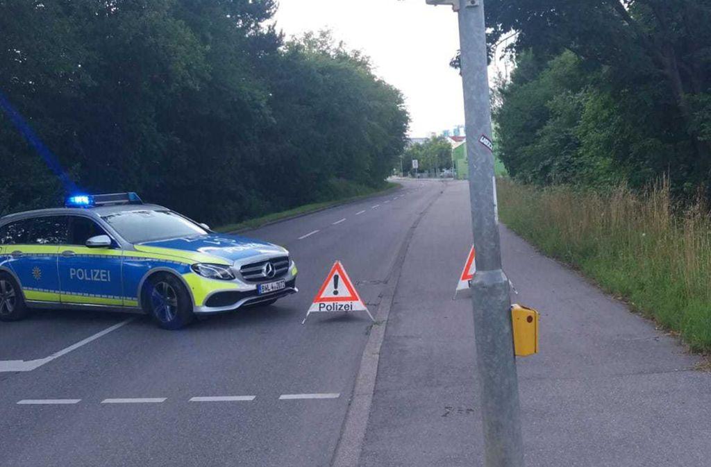 Kein Durchkommen an der Kemnater Straße in Riedenberg. Foto: privat/Georg Linnert