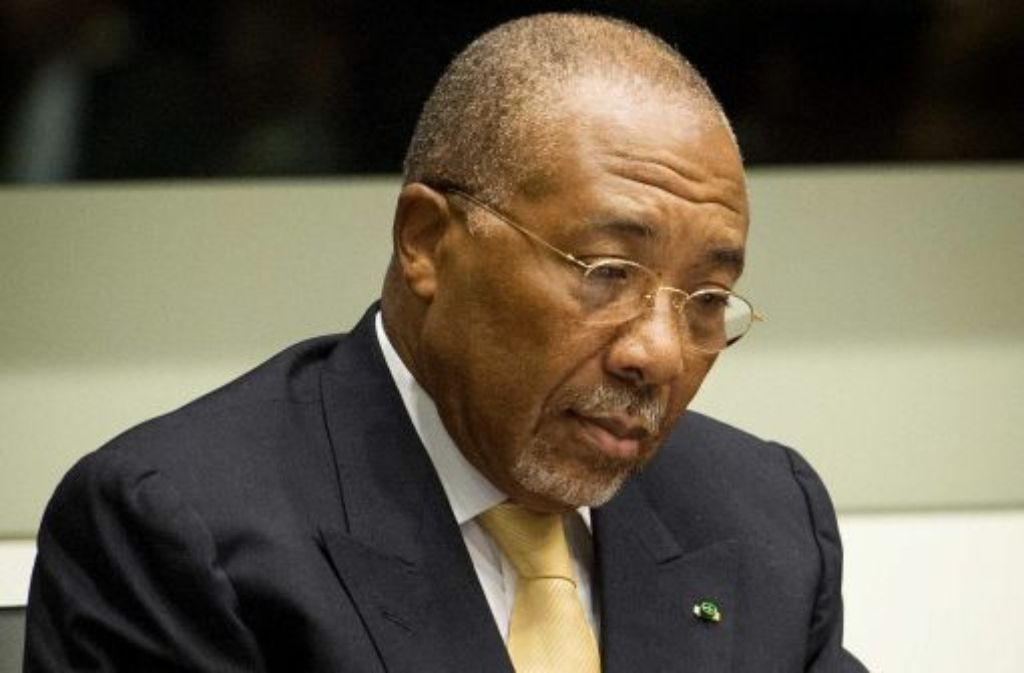 Der frühere Präsident von Liberia, Charles Taylor Foto: dpa