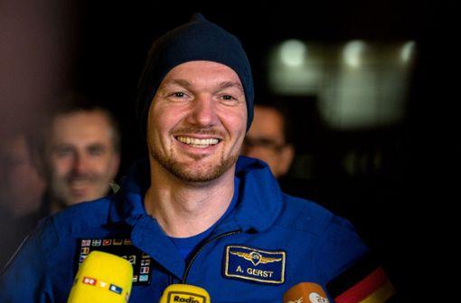 Alexander Gerst würde gerne zum Mond und Mars fliegen