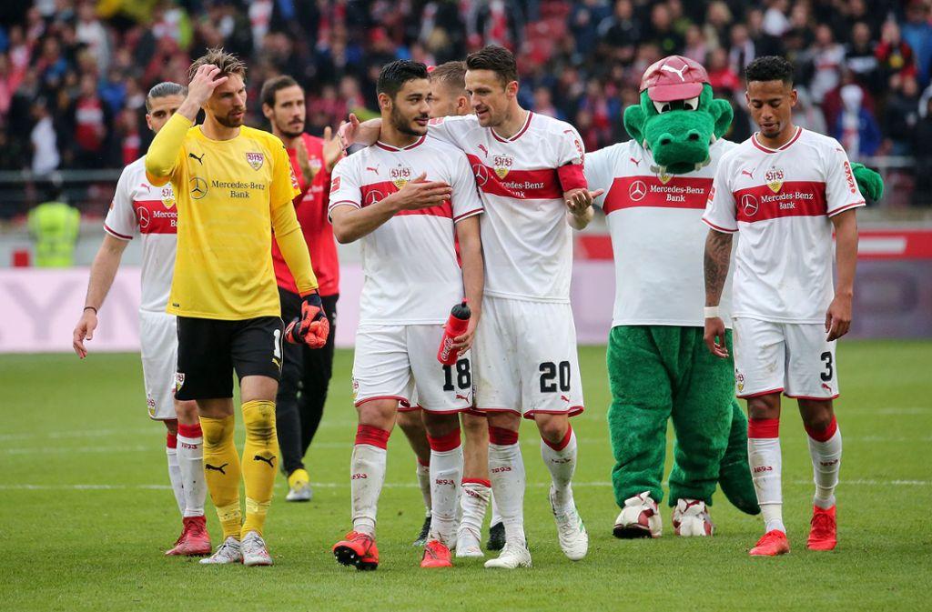 Beim VfB Stuttgart wird weiterhin der Stern auf dem Brustring zu sehen sein. Foto: Pressefoto Baumann
