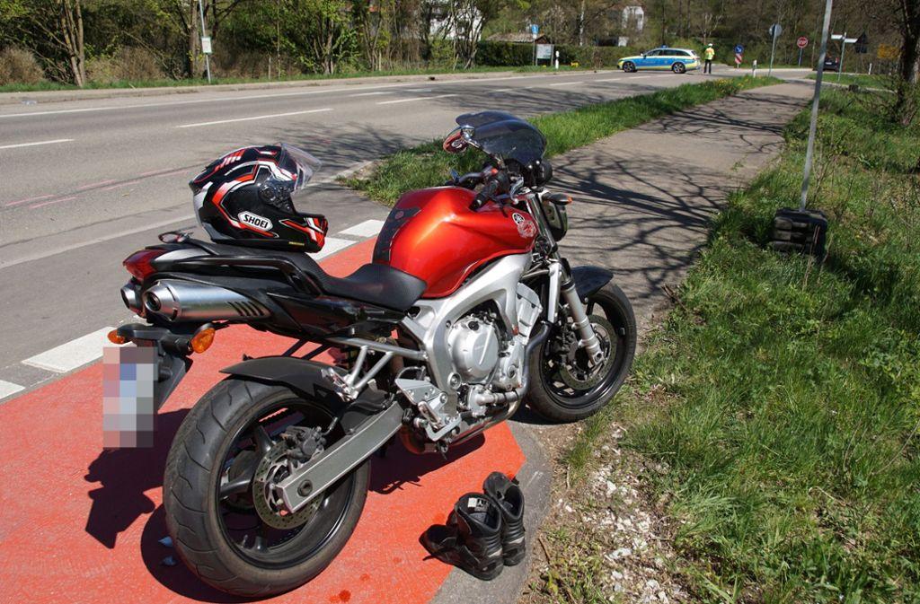 In Rechberghausen ist am Wochenende ein Motorradfahrer tödlich verunglückt. Foto: SDMG