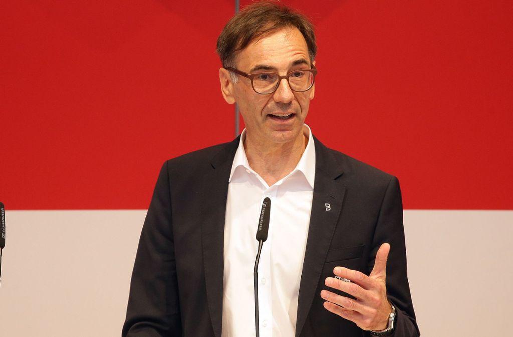 Bernd Gaiser ist aktuell eines von zwei Präsidiumsmitgliedern und Aufsichtsratsvorsitzender der VfB Stuttgart AG. Foto: Baumann