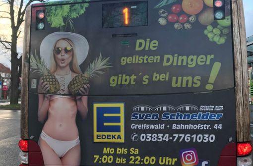 Edeka-Werbung auf Bussen sorgt für Empörung