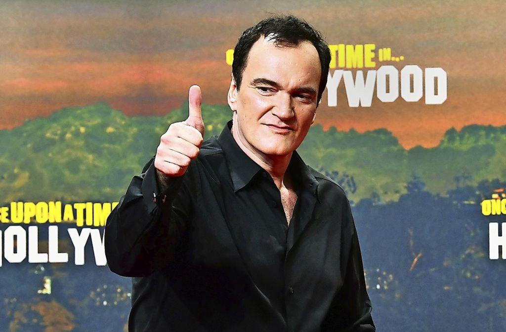 Er will keine Filme über die Welt von heute drehen: Quentin Tarantino Foto: picture alliance/dpa