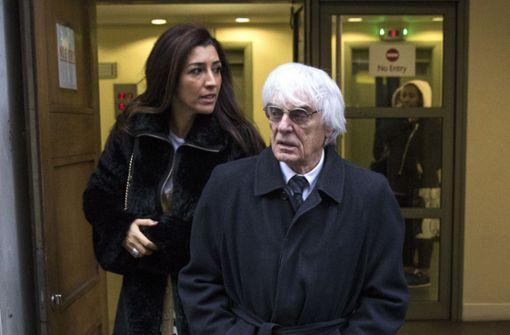 Bernie Ecclestone wird mit 89  noch einmal Vater