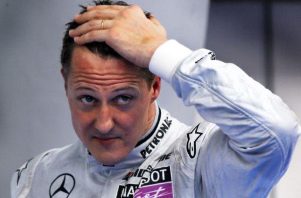 Michael Schumacher liegt immer noch im Koma. Foto: dpa
