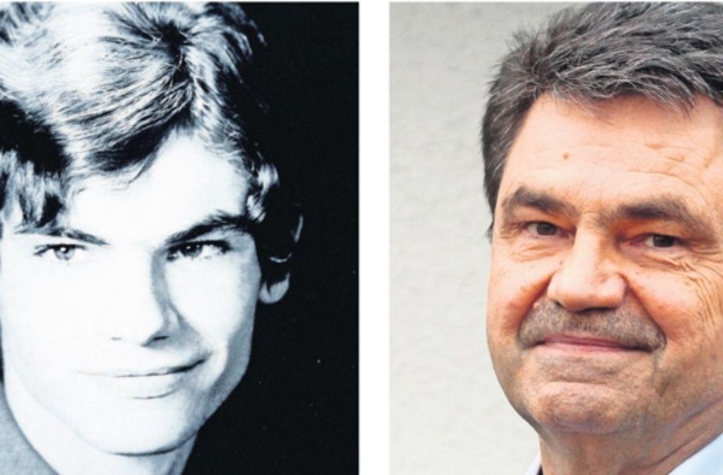 Dieter Baumgärtner als Jugendlicher und heute Foto: factum/Granville