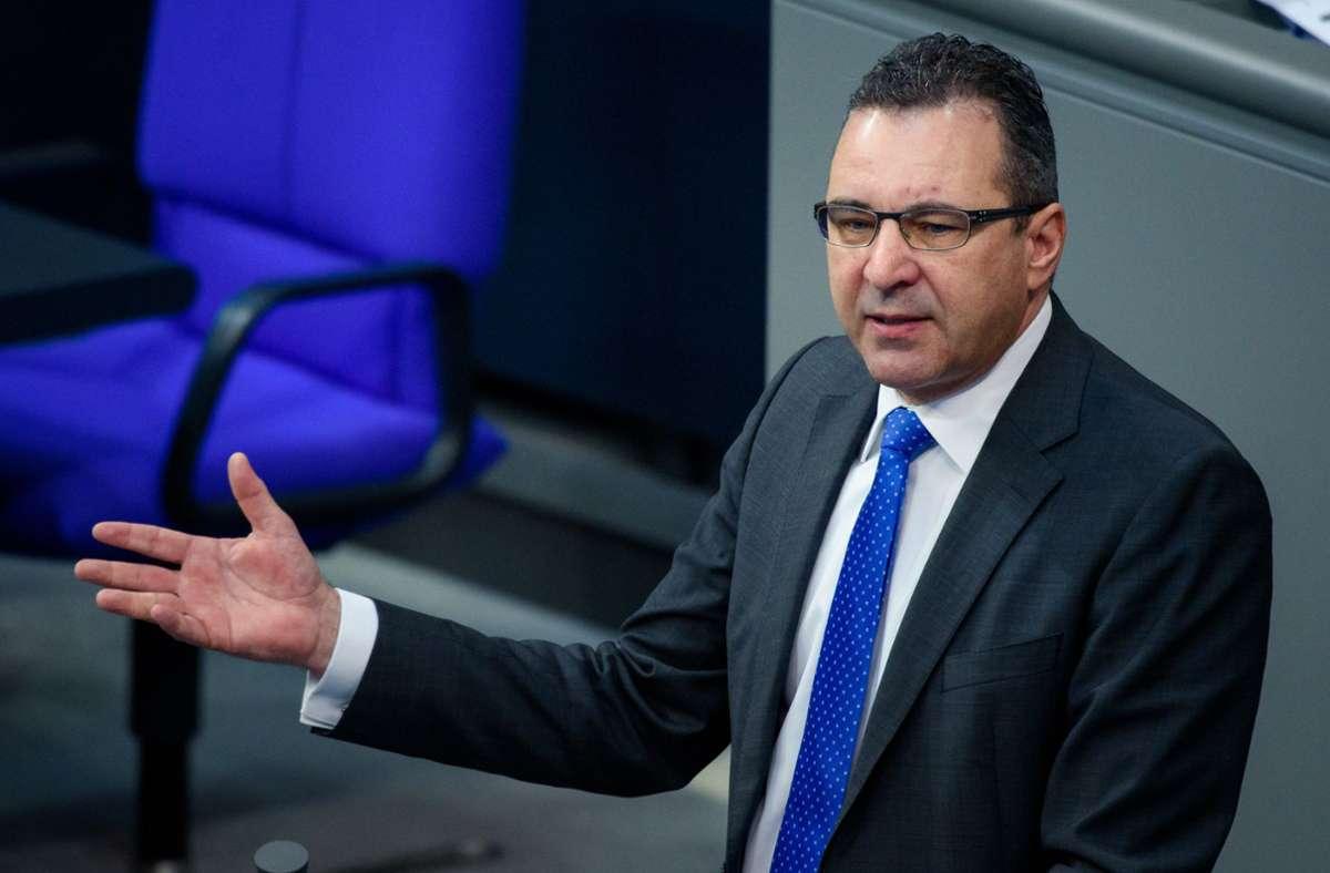 Pfeiffer legt sein Amt als energie- und wirtschaftspolitischer Sprecher der Unionsfraktion nieder. Foto: dpa/Gregor Fischer