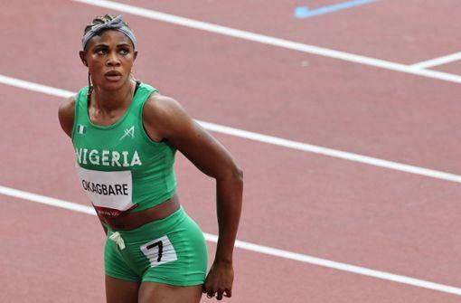 Nigerias Sprintstar Blessing Okagbare suspendiert