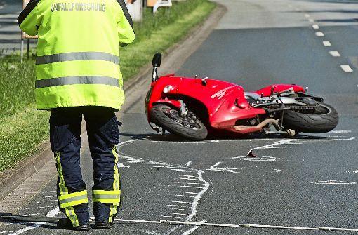 27-jähriger Motorradfahrer schwer verletzt