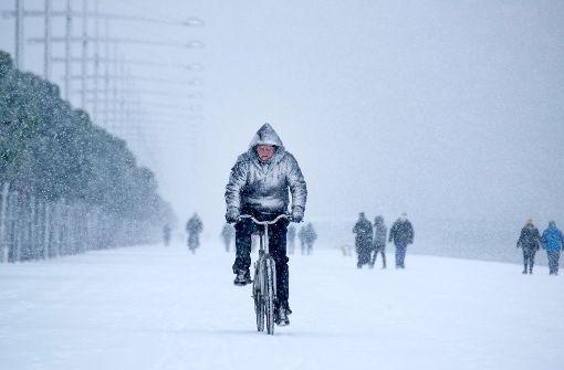 Schnee macht Griechenland zu schaffen