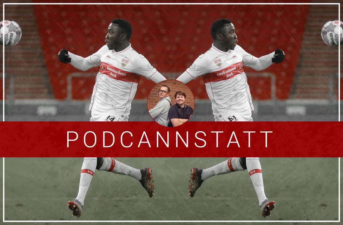Silas Wamangituka vom VfB Stuttgart erzielte zuletzt sehenswerte Tore. Foto: StZN/Baumann