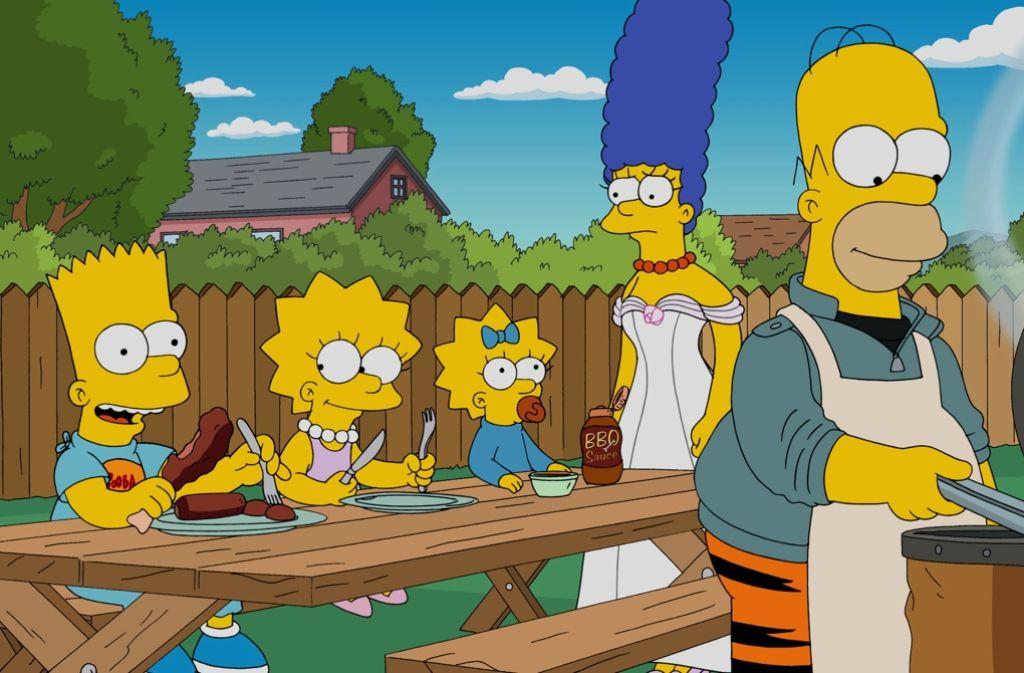 Homer Simpsons und seine Familie sind Kult im TV. Foto: Fox
