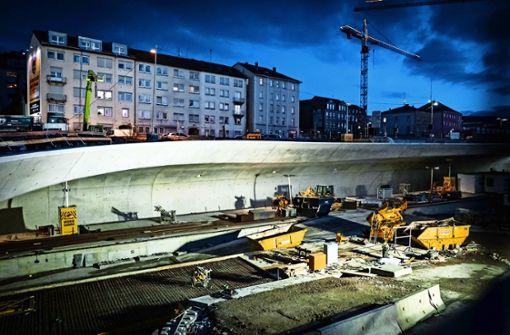 Neuer Stadtbahnhalt im September fertig