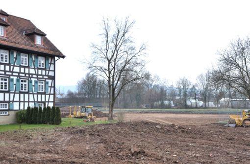 Baustart für Gartenschauprojekt