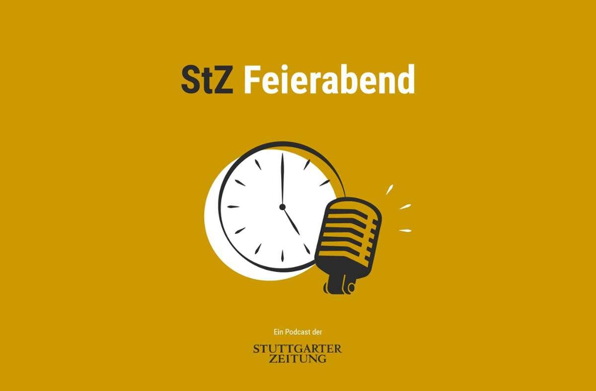 """Im """"StZ Feierabend""""-Podcast der Stuttgarter Zeitung fassen wir den Tag für Sie zusammen. Foto: /Susann Komrovski"""