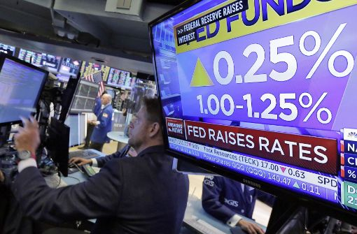 Federal Reserve erhöht Leitzinsen