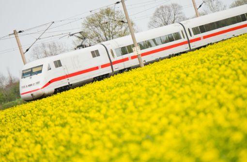 Fahrtzeit und Preis für Bahnkunden wichtiger als Klima