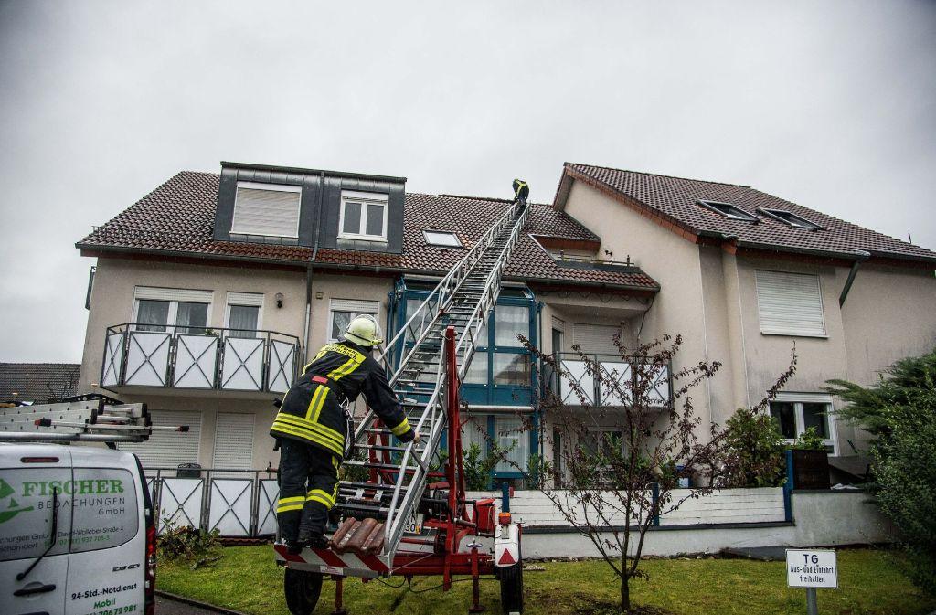 In Winterbach rückte die Feuerwehr an. Foto: SDMG