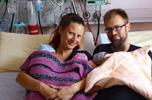 Dreifaches Babyglück ohne Kaiserschnitt