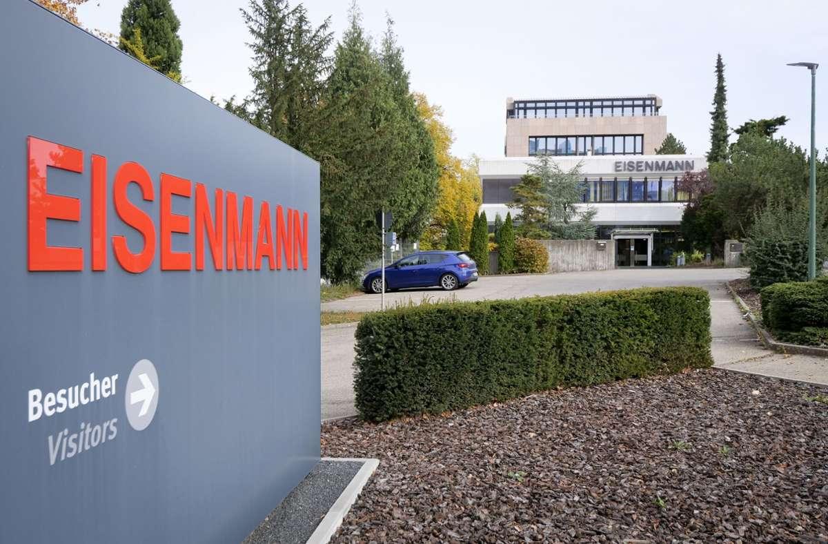 Auf dem ehemaligen Gelände der Firma Eisenmann sollen junge Gründerfirmen eine Heimat finden. Foto: factum/Simon Granville