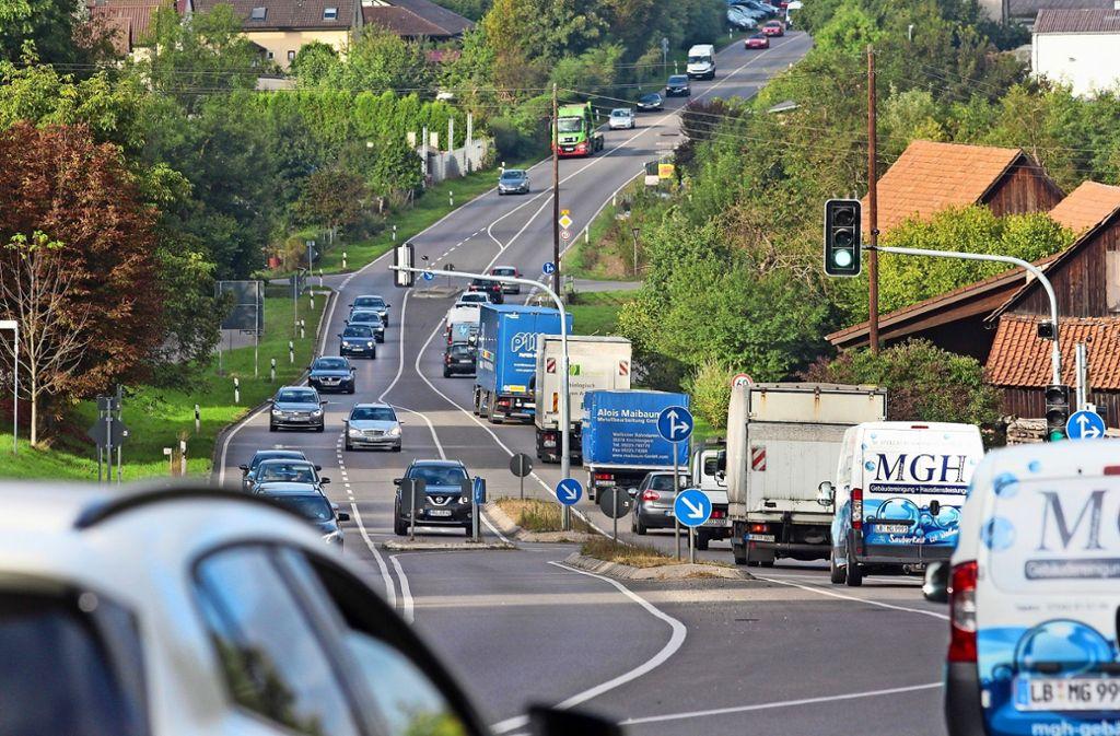 Bislang  quälen sich 28 000 Autos täglich durch Enzweihingen. Foto: factum/Granville
