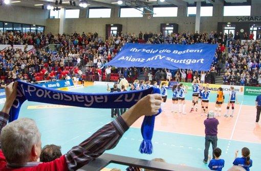 Volleyball in der Porsche-Arena?