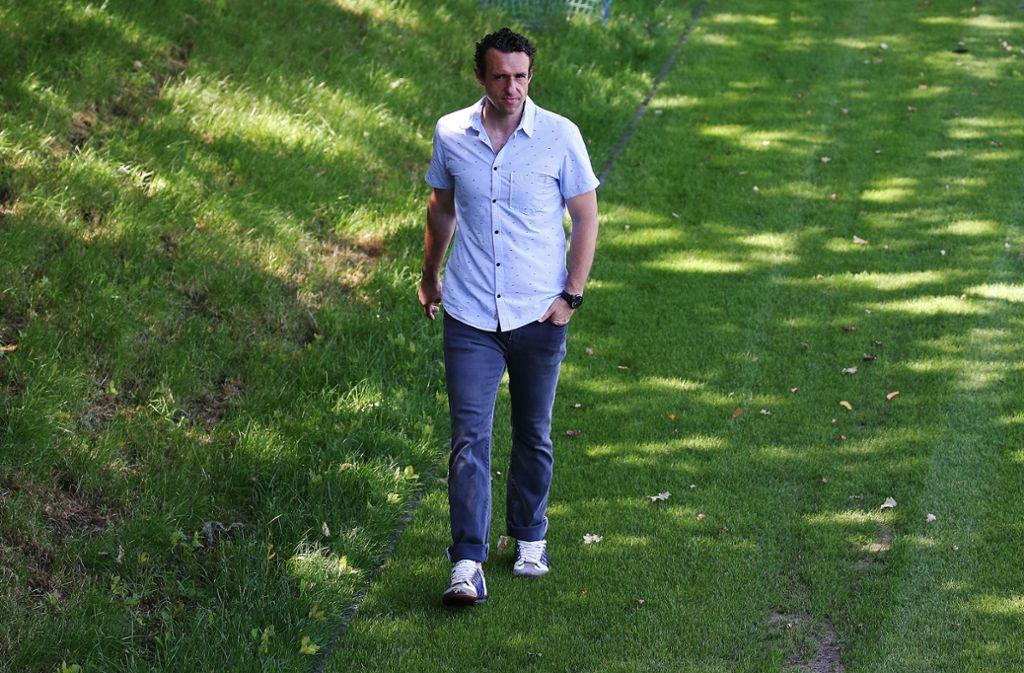 Michael Gentner geht bis zum Saisonende den Weg als Cheftrainer des Oberligisten VfB Stuttgart II. Foto: Baumann