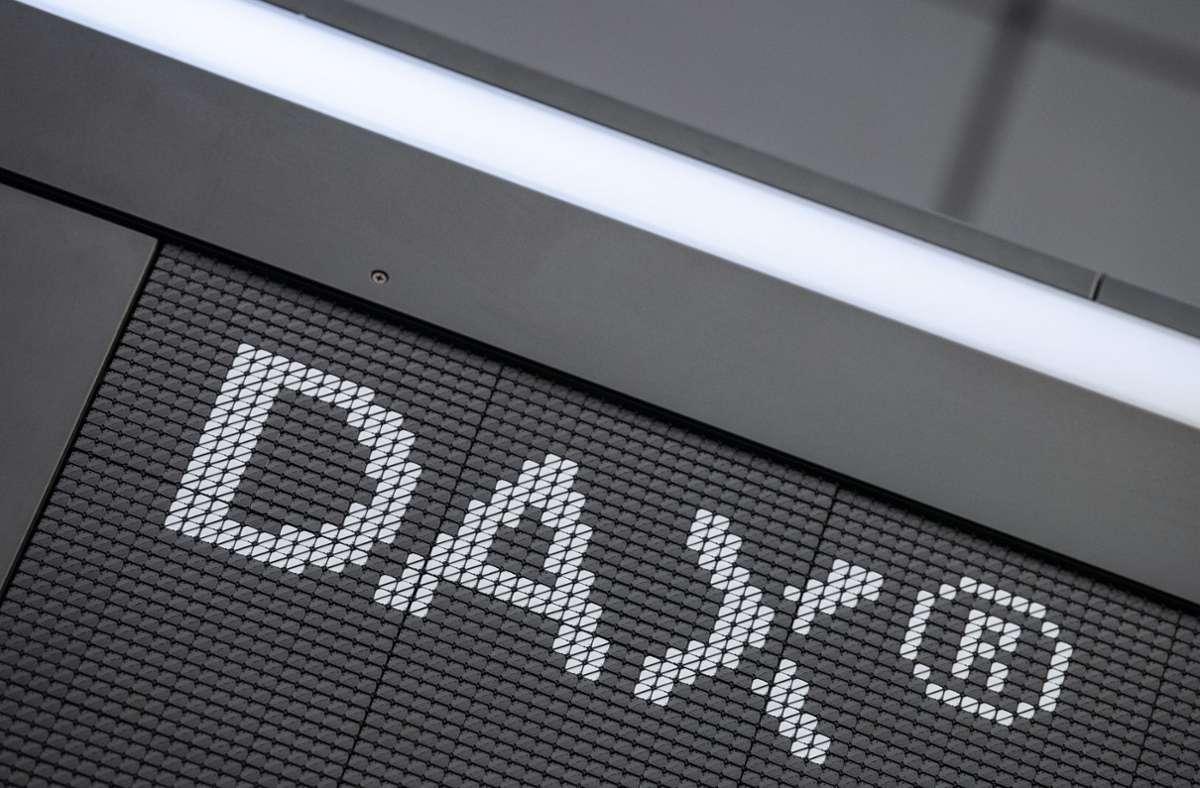 Der Dax ist das wichtigste deutsche Börsenbarometer. Foto: dpa/Boris Roessler