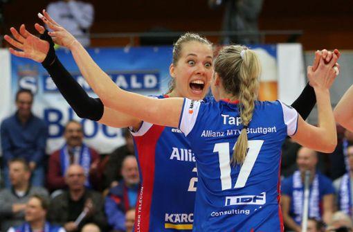 Volleyballerinnen reisen voller Zuversicht nach Minsk