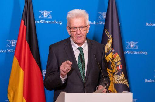 Was Kretschmann in  Baden-Württemberg will