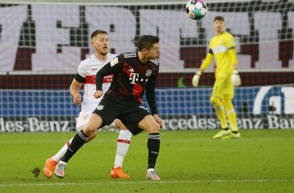 Am Wochenende begegneten sich der VfB Stuttgart und der FC Bayern München  fast auf Augenhöhe. Bei den TV-Geldern gibt es derweil riesige Unterschiede. Foto: Pressefoto Baumann//Hansjürgen Britsch