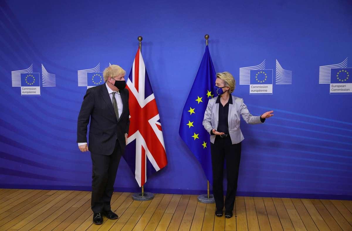 Weil es wesentliche Unterschiede gibt, bereitete die EU ein Notfallgesetz vor, falls die Brexit-Gespräche scheitern. Foto: AFP/Aaron Chown