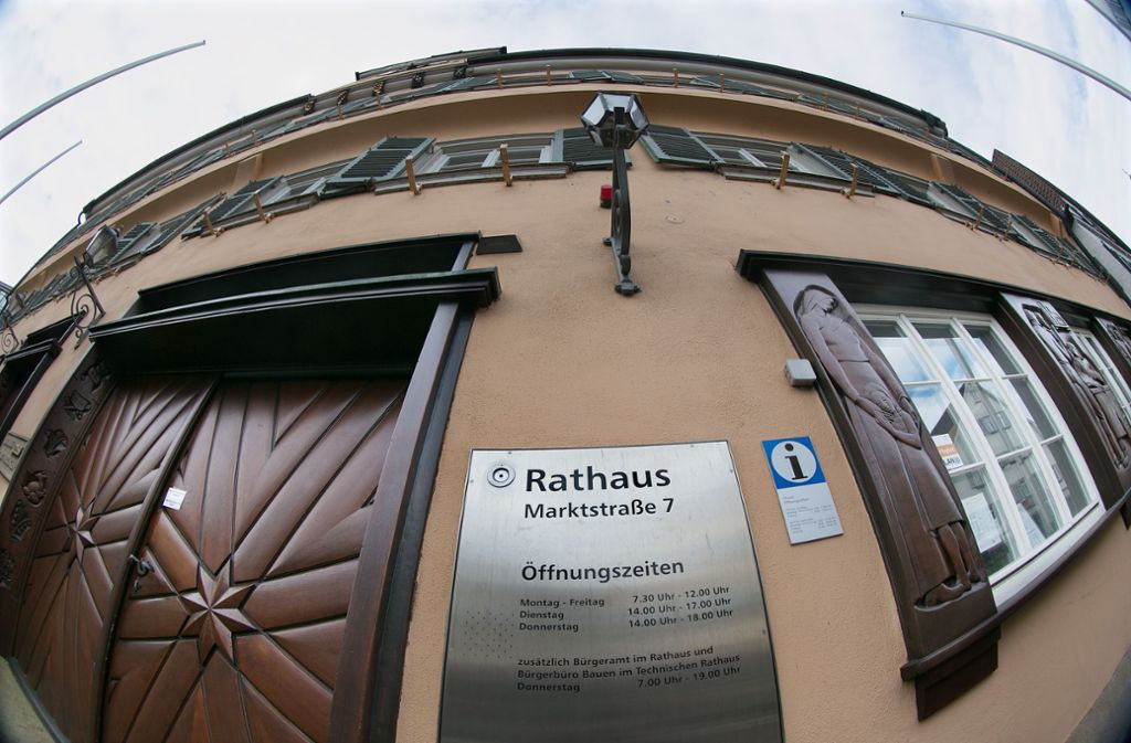 Wer wird Chef im Nürtinger Rathaus? Die Wähler stimmen am 5. Mai darüber ab. Foto: Horst Rudel