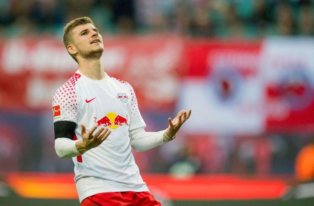 Leipzig hatte seine Mannschaft 2016 verstärkt – unter anderem mit Timo Werner. Foto: AFP