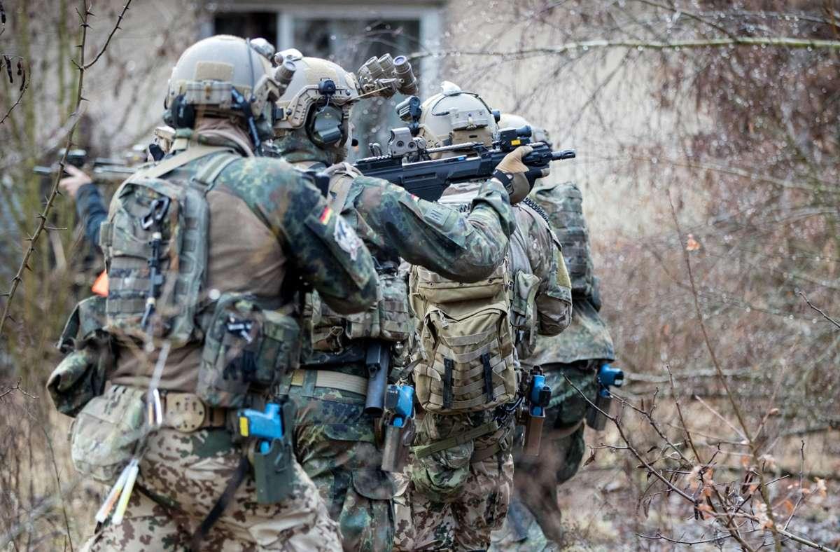 Die Uniter-Affäre sorgt bei den KSK-Kräften der Bundeswehr weiter für Unruhe. Foto: dpa/Kay Nietfeld