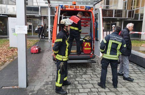 Einsturzgefahr? Bürogebäude evakuiert