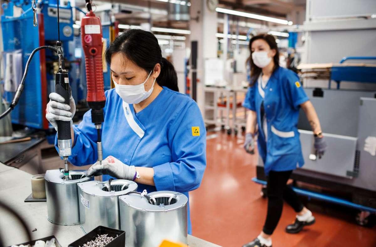 In China laufen die Geschäfte von EBM Papst besonders gut. Foto: Louisa Marie Summer /EBM Papst