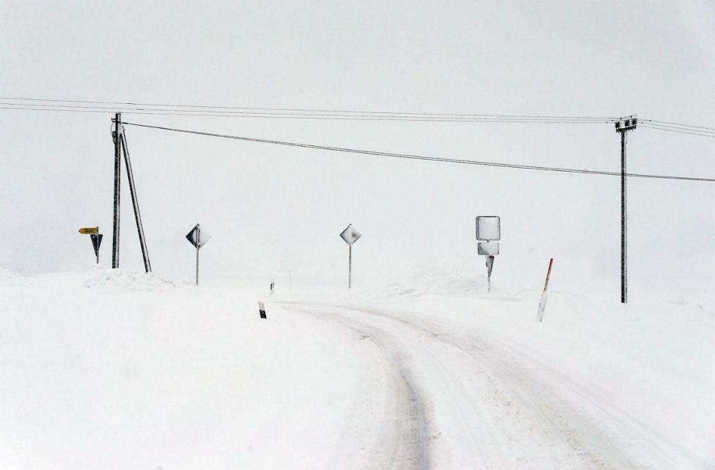 Aus Sicht des Forschers ist es nicht unwahrscheinlich, dass solche Wetterereignisse wie das derzeitige Schneechaos in Bayern künftig häufiger auftreten. (Symbolfoto) Foto: dpa