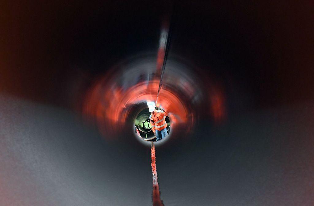 So könnte die Neckarenztalleitung von innen aussehen. Foto: dpa