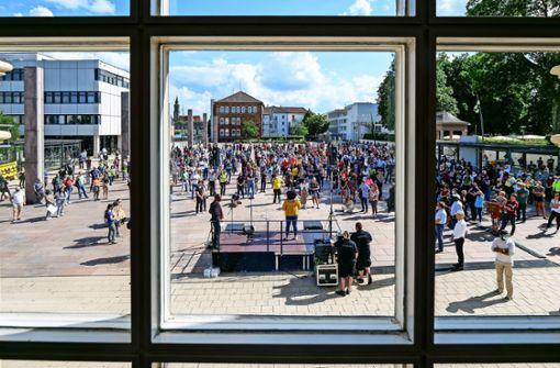 Bürger zeigen klare Kante gegen Rassismus