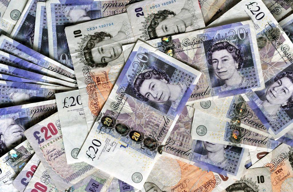 Britische Pfund haben Einbrecher in Stuttgart-Degerloch erbeutet (Symbolbild). Foto: dpa