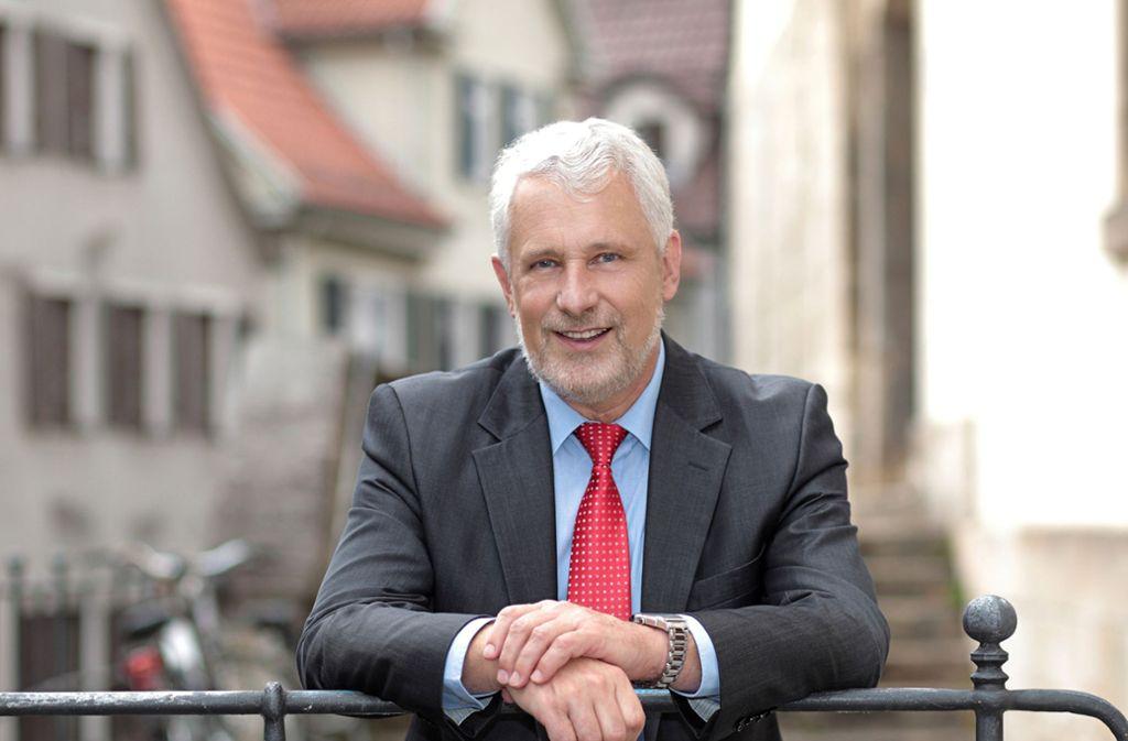 Otmar Heirich ist seit Januar 2004 Nürtinger Oberbürgermeister. Foto: Stadt Nürtingen