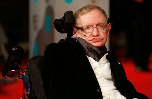 Wissenschaftler Stephen Hawking gestorben