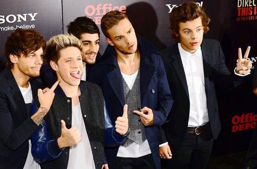 """Boygroup One Direction: """"Megasüß"""" in Richtung Weltruhm"""
