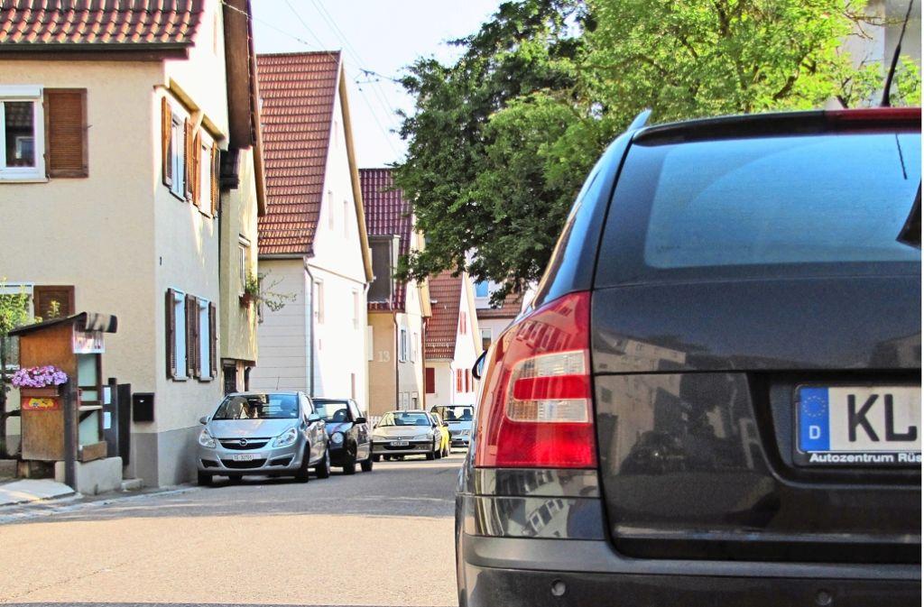 Ob dieser Autobesitzer wohl in Plieningen wohnt oder derzeit im Urlaub ist? Foto: Sägesser