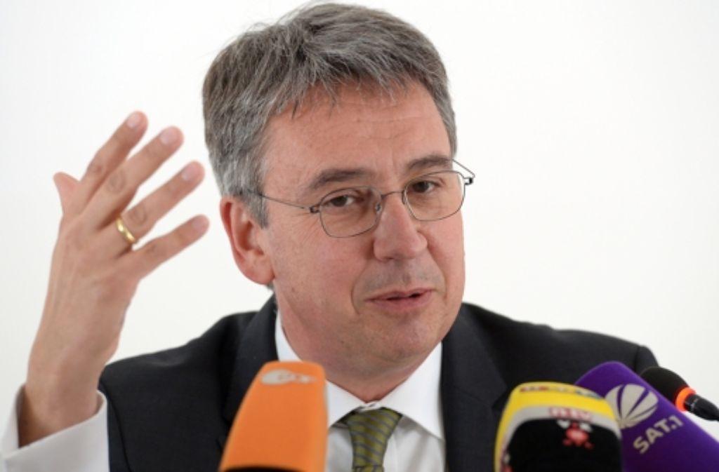 Der Präsident des Bundeskartellamtes, Andreas Mundt. Foto: dpa