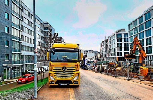 Ärger über Daimler-Baustelle