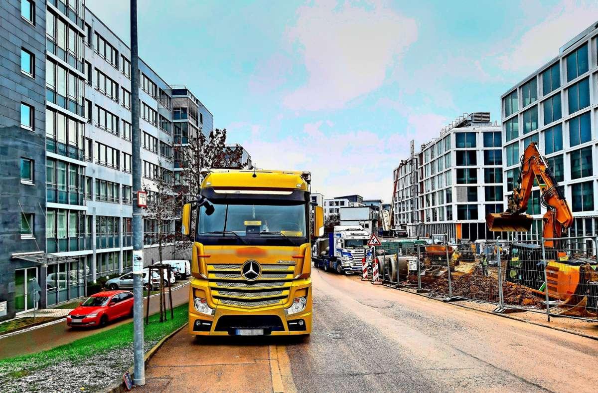 Parken auf dem Gehweg ist auch dem städtischen Ordnungsamt ein Dorn im Auge. Foto: z/privat